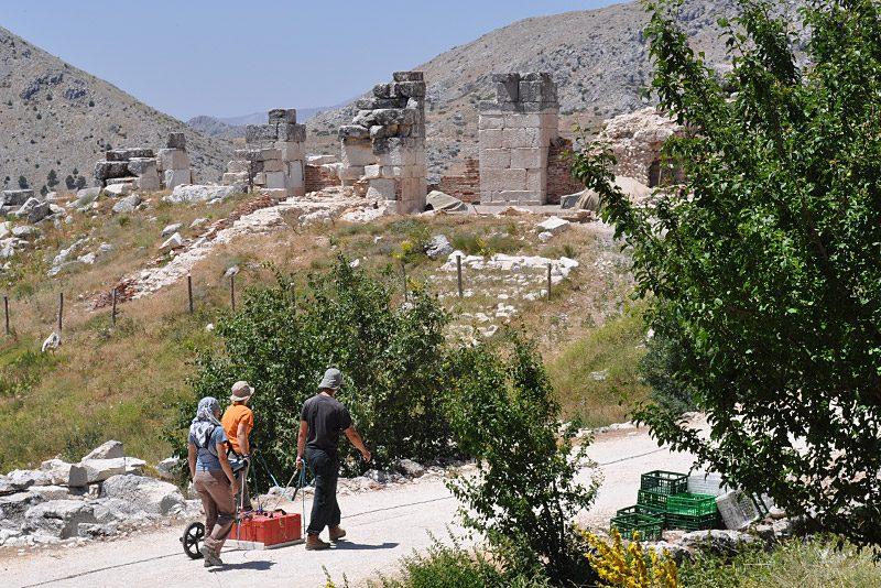 Gearh - terenske raziskave in arheološke meritve